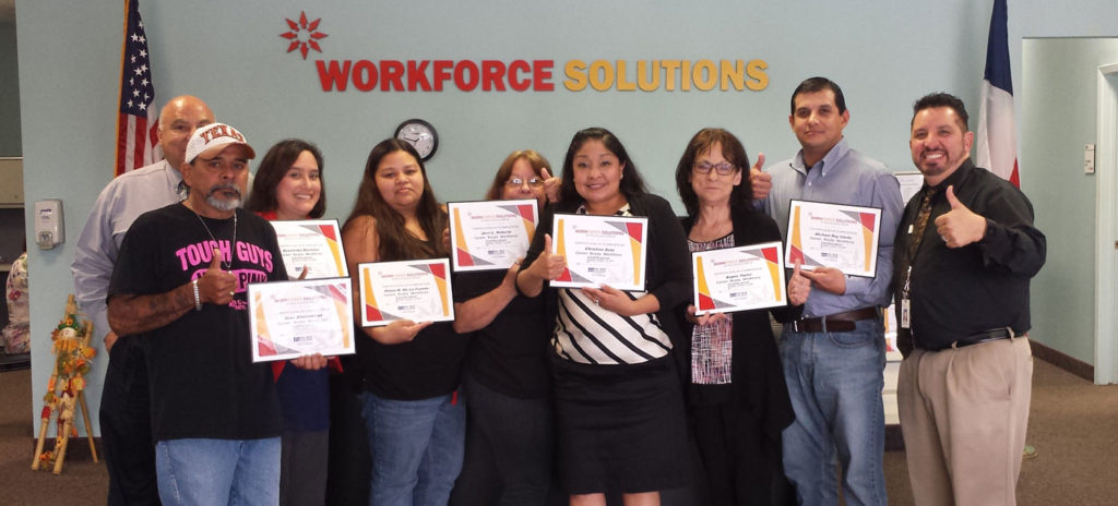Photo of Career Ready Workforce Certification Recipients