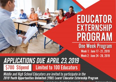 DRAFT_YOULearn_EducatorExternshipProg_EDUCATORS-Flyer-3-28-19