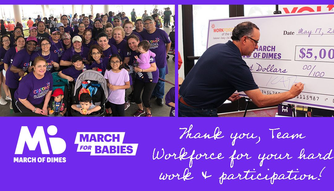 Workforce Solutions Raises Thousands of Dollars for March of Dimes – 2019