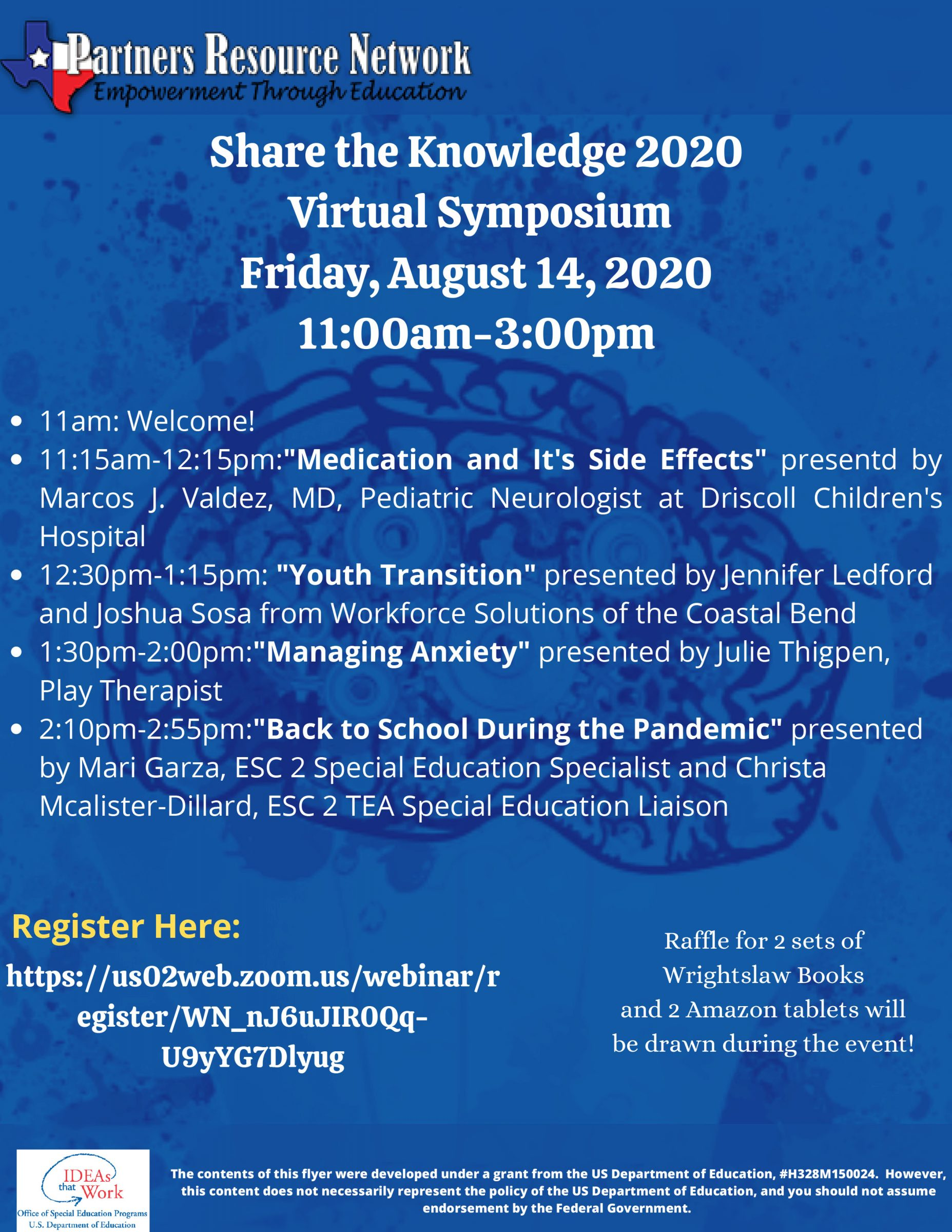 Share the Knowledge 2020 - Virtual Symposium Friday August 14, 2020 from 11:00 AM - 3:00 PM, Click Above to Register