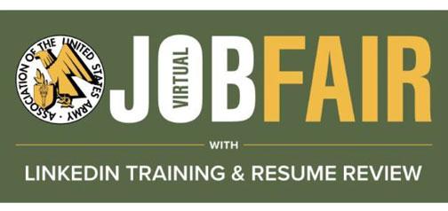 U.S. Army Virtual Job Fair and LinkedIn Training