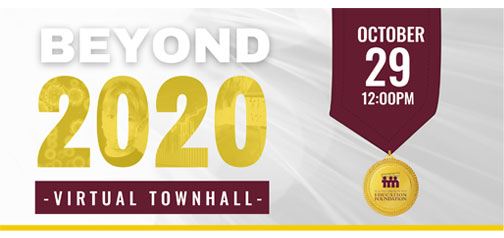 """Tuloso Midway I.S.D. Education Foundation Presents """"Beyond 2020 – Virtual Town Hall"""""""